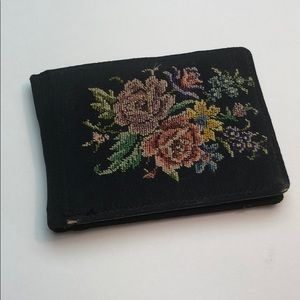 Vintage | Embroidered Wallet Made In Germany